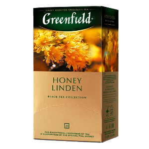 Чай Greenfield (Гринфилд) Honey Linden (Хани Линден) 25п