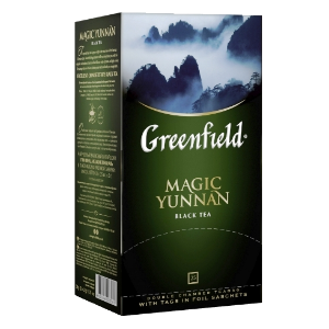 Чай Greenfield (Гринфилд) Magic Yunnan (Мэджик Юньань) 25п