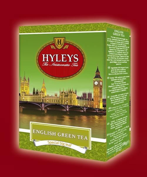 чай Хэйлис Английский зеленый